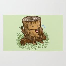 The Popsicle Log Rug