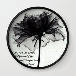 Jace Wayland/Morgentstern/Herondale/Lightwood Wall Clock