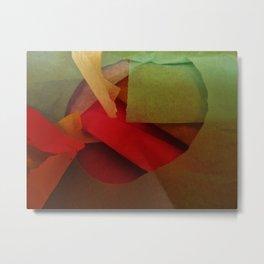 Tissue Tango Metal Print
