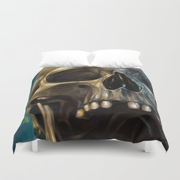 Skull 4 Duvet Cover