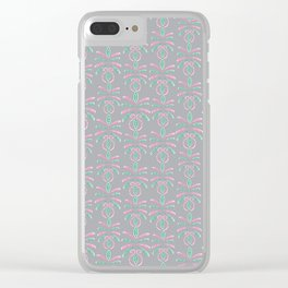 Cereal for Dinner - Geometric Clear iPhone Case