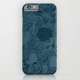 Flowers have blue hours too iPhone Case