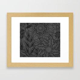 Floral Me Baby Framed Art Print