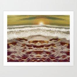 Trippin in the Sun Art Print