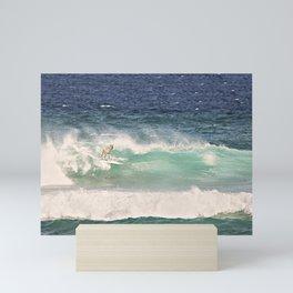 ALPACA - SURFING HAWAII Mini Art Print