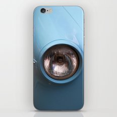 Blue Car iPhone & iPod Skin
