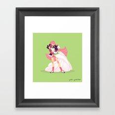 Magical Couple I Framed Art Print