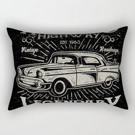 American Highway Star Rectangular Pillow