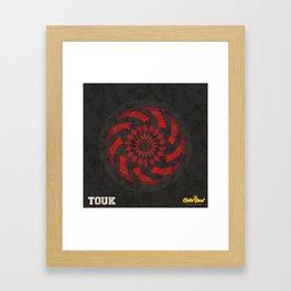 TAKEOVER x Gold Soul Mandala Framed Art Print