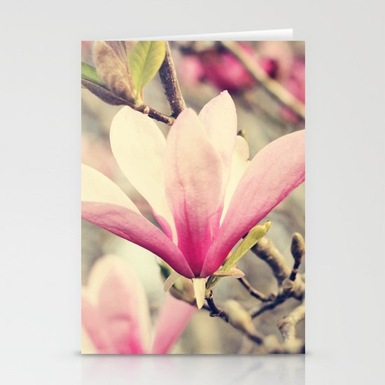 Japanese Magnolia Stationery Cards