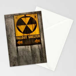 Fallout Shelter Stationery Cards