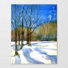 A Winter's Tale Canvas Print