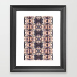 Tie Dye Watercolor Abstract Modern Pattern Framed Art Print