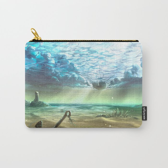 below sky level Carry-All Pouch