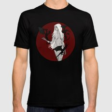 Mother of Dragons Black MEDIUM Mens Fitted Tee