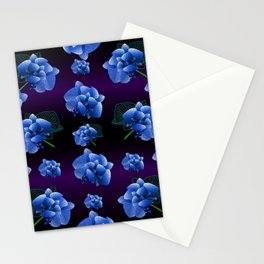 Orchid pattern  Stationery Cards