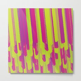 Lollipop Layering Metal Print