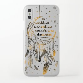 Saved and Remade Clear iPhone Case