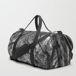 Avenue of trees Duffle Bag