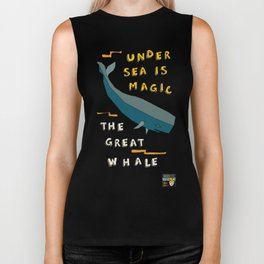 The Great Whale Biker Tank