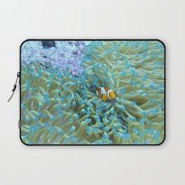 Scared little clownfish Laptop Sleeve