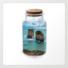 Bottled apposle Art Print