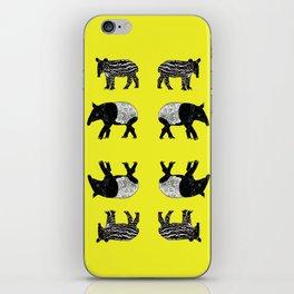 Dance of the Tapirs iPhone Skin