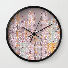 CDS Logo Pattern Wall Clock