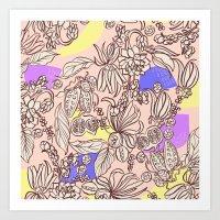 Mangosteen Art Print