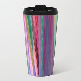 fall stripes Metal Travel Mug