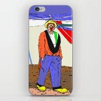 clown iPhone & iPod Skins featuring clown by Karl-Heinz Lüpke