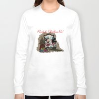 minnie Long Sleeve T-shirts featuring Minnie Mouses by carotoki