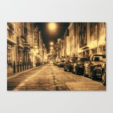 Streets of Mannheim Canvas Print