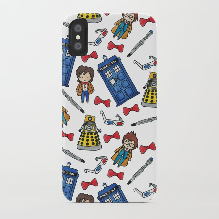Time Lords iPhone Case