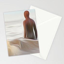 Gormley Statue (Digital Art) Stationery Cards