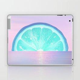 When life gives you lemons - Surreal Lemon Collage Sunset Laptop & iPad Skin