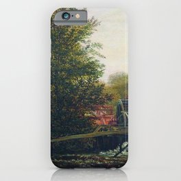An Old Mill 1859 By Lev Lagorio   Reproduction   Russian Romanticism Painter iPhone Case
