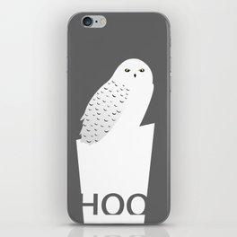 Hoo iPhone Skin