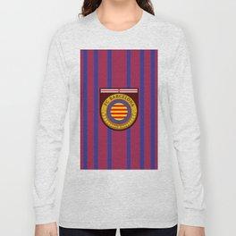 Catalonia Football Badge Long Sleeve T-shirt