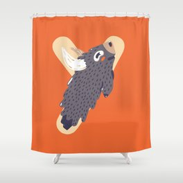 Y for Yak Shower Curtain
