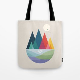 Somewhere Tote Bag