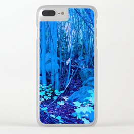 0411 Clear iPhone Case