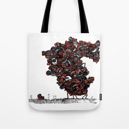 The chattering class  -alt Tote Bag