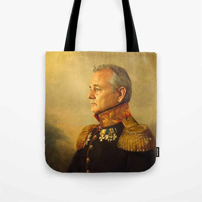 Bill Murray - replaceface Tote Bag
