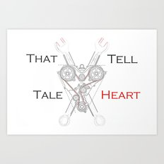 That Tell-Tale Heart Art Print