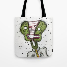 Dark Lord of the Flies Tote Bag