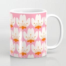 Abstraction_SCANDINAVIAN_CHERRY_BLOSSOM_POP_ART_001C Coffee Mug