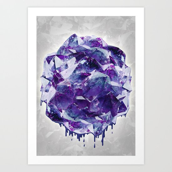 Mineral Art Print