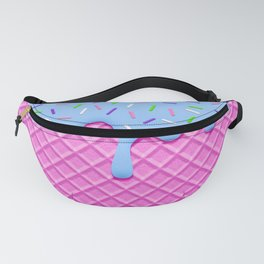 Psychedelic Ice Cream Fanny Pack