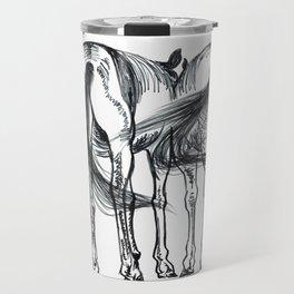 horses talking Travel Mug